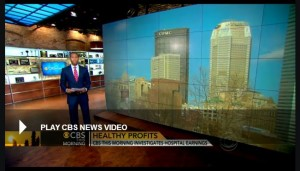CBS This Morning Investigates High Earnings At UPMC.